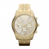 Afbeelding van Michael Kors MK8281 Lexington chrono goudkleurig Herenhorloge
