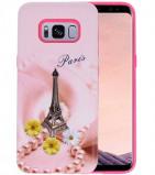 Afbeelding van 3D Print Hard Case voor Galaxy S8 Paris