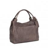 Bilde av Chesterfield Leather Handbag Taupe Cardiff
