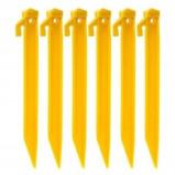 Afbeelding van Camp Active tentharingen 216 mm geel 6 stuks