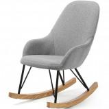Afbeelding van LaForma Ivette kinderschommelstoel grijs