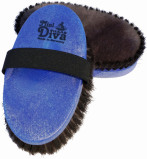 Obrázek Haas soft body brush Diva Mini blue