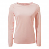 Afbeelding van Craghoppers NosiLife Erin II Long Sleeved Shirt Dames Seashell Pink 40