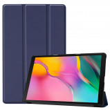 Afbeelding van 3 Vouw cover hoes Samsung Galaxy Tab A 10.1 inch (2019) Blauw