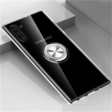 Obrázek 360 Degree Ring Clear Soft TPU Phone Case for Samsung Galaxy Note 10