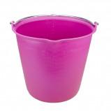 Imagem de Agradi Bucket with measurement scale + pouring spout Roze