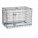 Abbildung von Beeztees Hundebox Schwarz 109x69x75cm