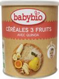Afbeelding van Babybio 3 Vruchtengranen 6 Maanden, 220 gram
