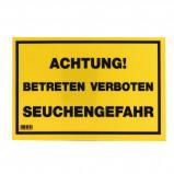 Afbeelding van Kerbl Waarschuwingsbord Verboden te Betreden!