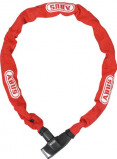 Image of Abus 6800/85 ionus 6mm chainlock negro (Length: 110 cm, Lock colour: red)