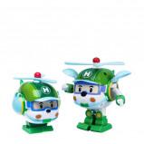 Afbeelding van Silverlit Transformerend speelgoed Robocar Poli Helly groen SL83169