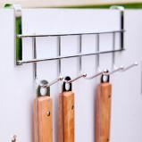 Εικόνα του #20 Stainless Steel 5 Hooks Clothes Door Bathroom Hanger hanging Loop Organizer Clothes Robe Hook Multi function