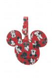 Afbeelding van Samsonite Accessoires Disney ID Tag mickey/minnie red Adreslabels