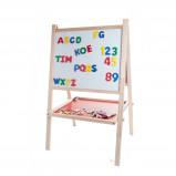 Afbeelding van Angel Toys Schoolbord en Whiteboard Hout