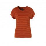 Afbeelding van Eksept gestreept T shirt met volant
