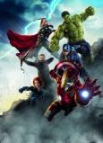 Afbeelding van Avengers Age Of Ultron 4 delog Fotobehang 184x254cm Film