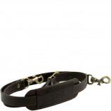 Bilde av Adjustable leather shoulder strap Dark Brown