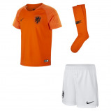 Abbildung von 2018/19 Netherlands Stadium Home Younger Kids' Football Kit Orange