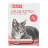 Abbildung von Beaphar Milquestra Wurmtabletten Katze 2 12kg 2St.