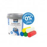 Afbeelding van Klei Creall Supersoft Rood/blauw/groen/geel/wit
