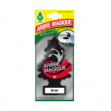 Afbeelding van Arbre Magique luchtverfrisser 12 x 7 cm Sport zwart