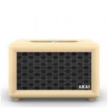 Immagine di Akai Retro Bluetooth Speaker (2 x 12.5W) Cream