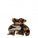 Afbeelding van Haarspeld donker bruin tortoise