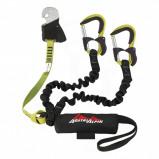 Afbeelding van AustriAlpin Hydra Evo Klettersteigset met extra valbeveiliging