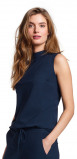 Image of LaDress Amber jersey lycra top blue