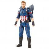 "Image of Avengers 12"" Titan Hero Captain America (E0607)"
