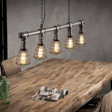 Afbeelding van Dimehouse Industriële hanglamp Dayton 5 lichts