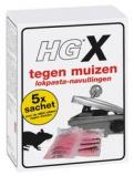 Afbeelding van HG X Tegen Muizen Lokpasta Navullingen 5 Stuks