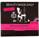 Afbeelding van Beauty Made Easy Oil Blotting Sheets Pink 80ST