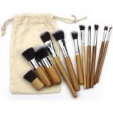 Imagem de 10 Piece Make Up Brush Set With Carry Bag