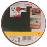 Afbeelding van Bosch 2607019497 25 delige Schuurschijvenset K80 / 120 240 130mm