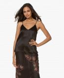 Image of ANINE BING Camisole Black Gwyneth Camisole in Silk