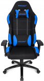 Image of AK Racing K7012 Gaming Chair Game Chair (Colour: black/blue)