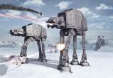 Afbeelding van Star Wars Battle Of Hoth 8 deling Fotobehang 368x254cm Film