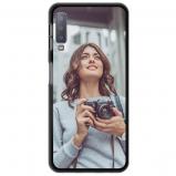 Abbildung von Samsung Galaxy A7 (2018) Silikon Hülle selbst gestalten