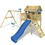 Abbildung von Fatmoose Spielturm mit Rutsche Smart Travel Kletterturm