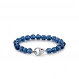 Image of TI SENTO Milano Bracelet Blue Silver Plated 2866DB