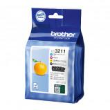 Afbeelding van Inktcartridge Brother LC 3211 Zwart + 3 kleuren Brother Supplies