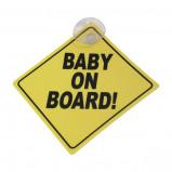 Afbeelding van Bordje Baby on board