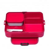 Afbeelding van Rosti Mepal lunchbox Bento Large 17 x 25,5 6,5 cm rood