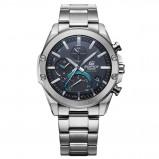 Afbeelding van Casio Edifice Bluetooth EQB 1000D 1AER horloge herenhorloge Zilverkleur