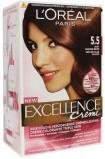 Afbeelding van L'oréal Paris Excellence creme haarverf licht mahoniebruin 5.5 1 stuk