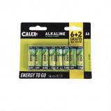 Image of 8 Pack AA batteries Penlite Alkaline Longlife
