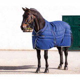 Obrázek Rambo by Horseware Cosy Stable Rug Navy/beige 115/165