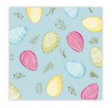 Afbeelding van Duni Servet pastel eggs 20 stuks