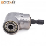 Imagem de 105 Degree Angle Screwdriver Hex Shank Magnetic Angle Bit Driver Adapter For Power Drill Screwdriver